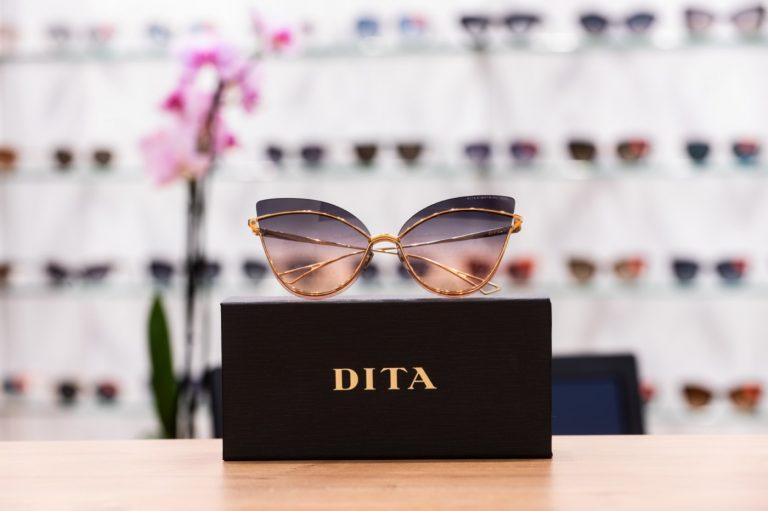 markowe okulary dita