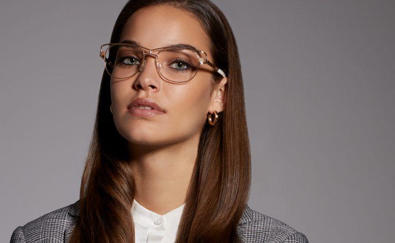 cazal okulary damskie korekcyjne makijaż podokulary