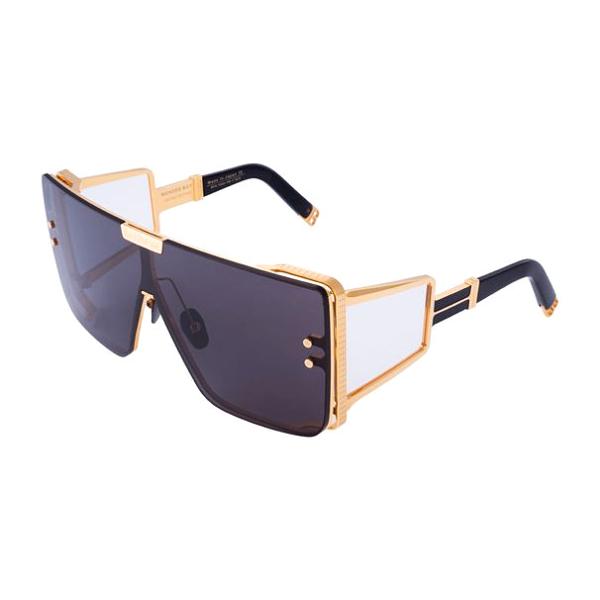 Okulary przeciwsłoneczne Balmain Wonder Boy - Czarno Złote