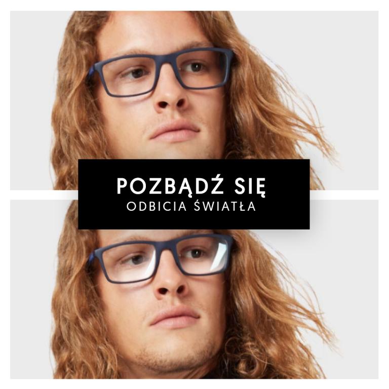 okulary zantyrefleksem